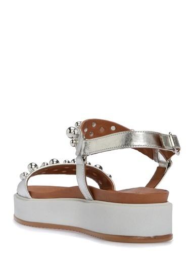 Divarese Sandalet Gümüş